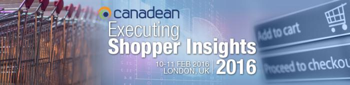Canadean Executing Shopper Insights London 2016