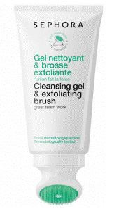 Sephora chooses Cosmogens SqueezeN Clean for its cleansing gel and exfoliating brush