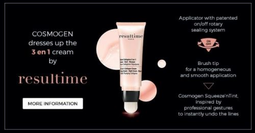 Cosmogen dresses up the 3 in 1 cream by Resultime