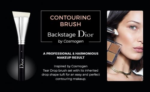 Cosmogen inspires DIOR with its Tear Drop brushes