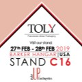 Toly Exhibiting at Makeup in Los Angeles