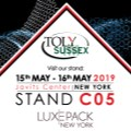 Toly Products Alliance With Sussex IM To Showcase At Luxepack New York
