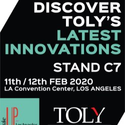 Toly Exhibits at Makeup in LA