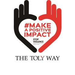 #Makeapositiveimpact the Toly way. It takes one woman to make a difference, this time, it took six.