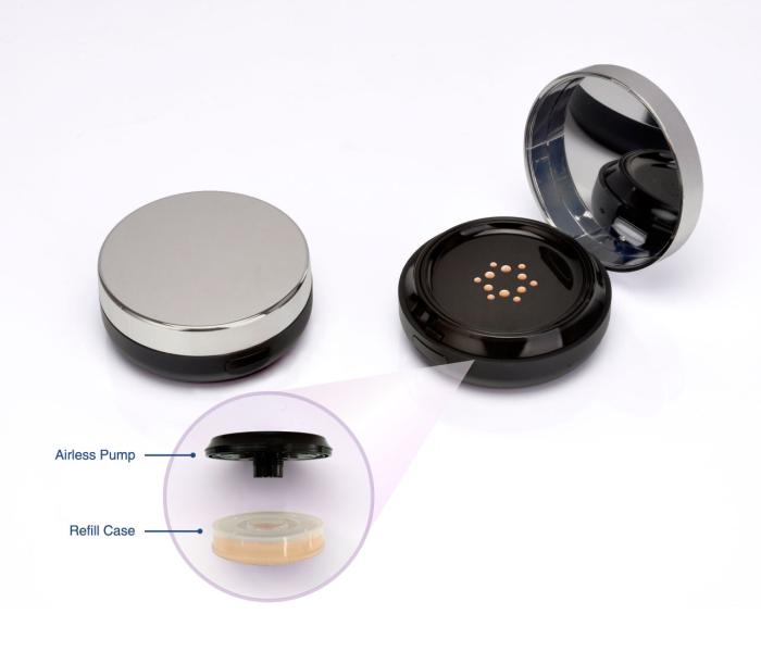 The next generation airless compact: Dynamic innovation from Nest Filler Packaging