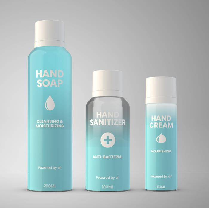 In Stock Packaging for Hand Sanitizer & Disinfectants