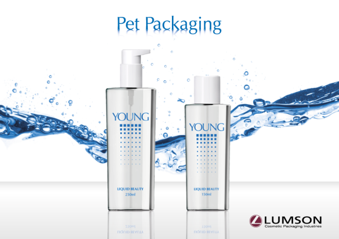 Discover Lumsons new PET bottles