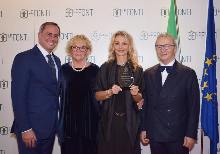 "Lumson honored at the ""Le Fonti Awards"""