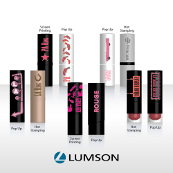New Lumson lipstick range