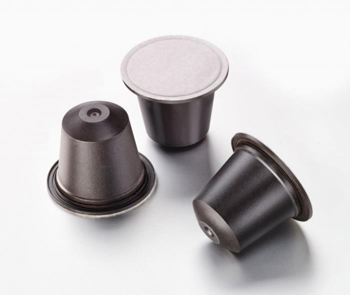 Home-compostable coffee capsule from ALPLA and Golden Compound