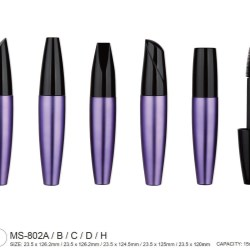 Air-tight mascara packaging with five closure options