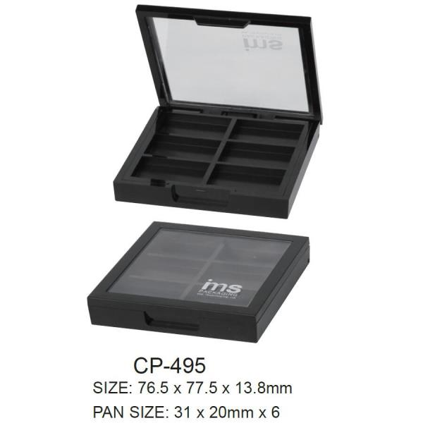 Closure options for IMSs eyeshadow compact