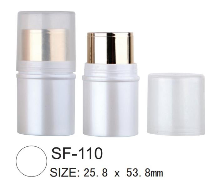 Makeup stick packaging for foundation, concealer and blush