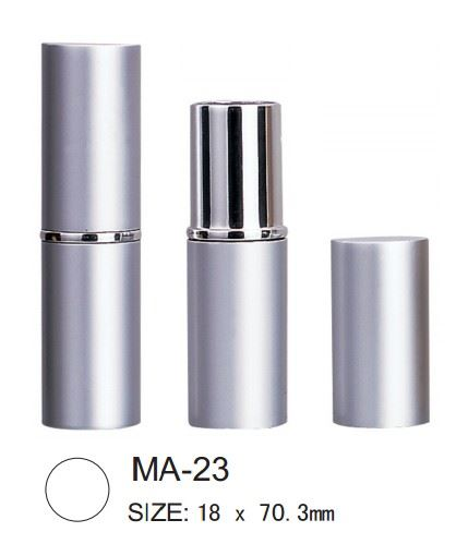 Round aluminum lipsticks from IMS Packaging