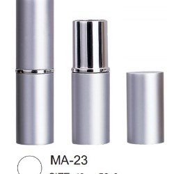 Round aluminum lipsticks from IMS Packaging