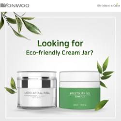 Looking for an Eco-friendly Cream Jar?