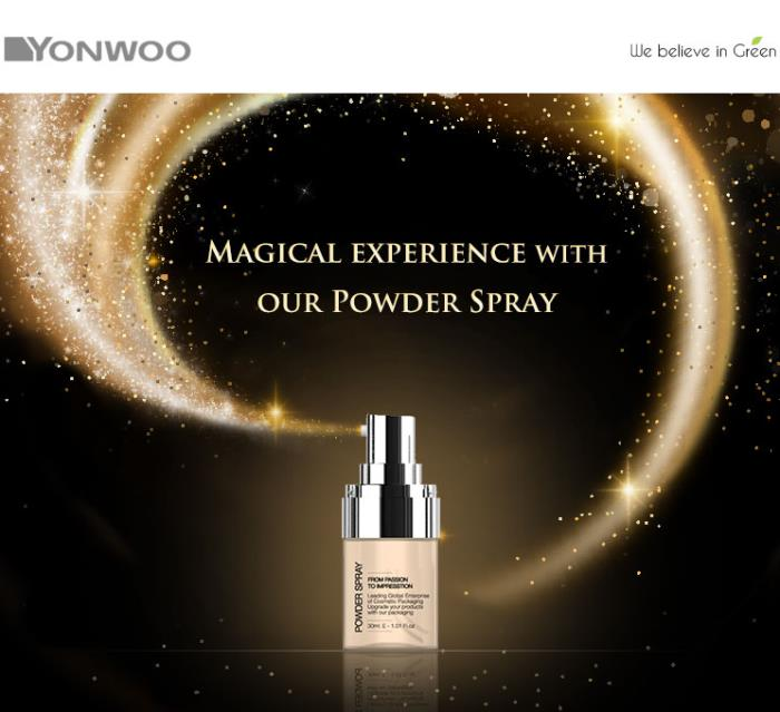 A magical experience with Yonwoo's powder spray