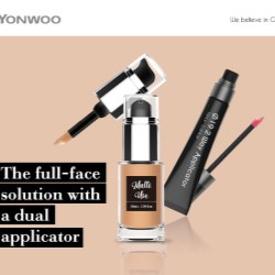 A full-face solution with a dual applicator package