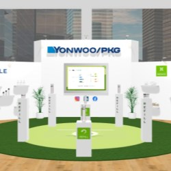 Luxury beauty meets sustainability at Yonwoo/PKG's LIVE 3D Booth