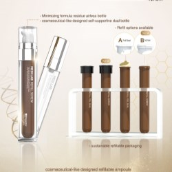 Refillable Medi LAB Airless Ampoule with Screw Top
