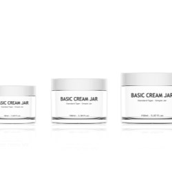 Basic Cream Jars
