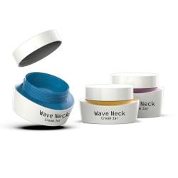 Wave Neck Cream Jar - 30 ml