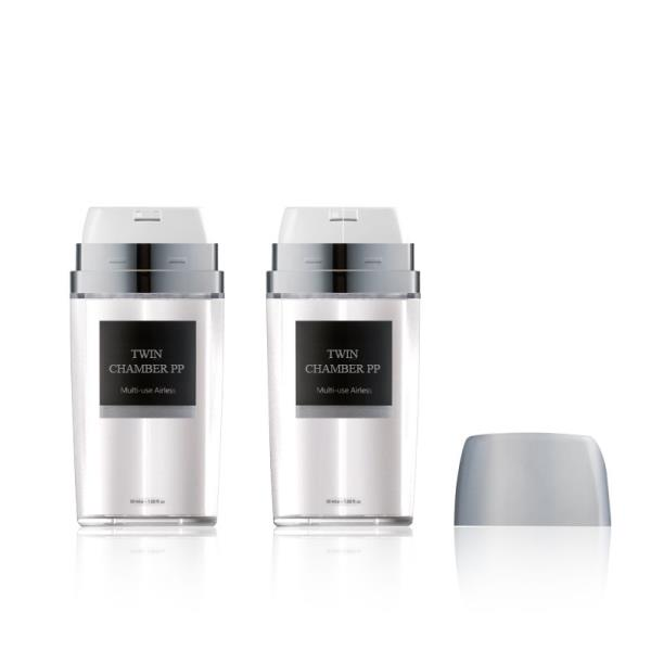 Twin Chamber Airless Bottle PP