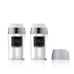 50 ml Twin Chamber Airless Bottle PP