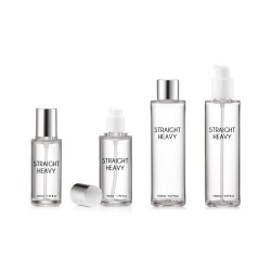 50 ml Straight Heavy  Bottle (3 closures available)