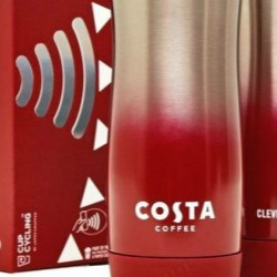 James Cropper's 'Clever Cup' for Costa Coffee