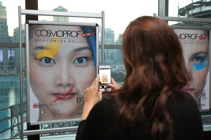 The 50th edition of Cosmoprof Worldwide Bologna has been presented in Dubai