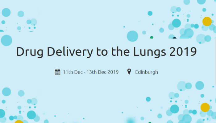 Drug Delivery to the Lungs 2019