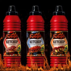 New design fires up the ketchup market