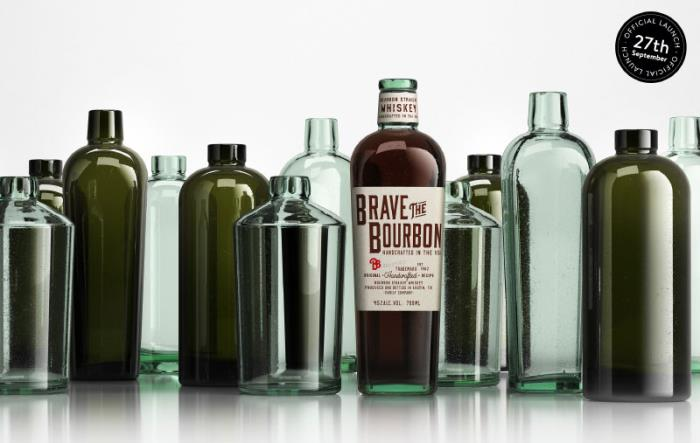 The new Wild Glass bottles for spirits are here!