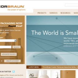 New TricorBraun website offers enchanced search