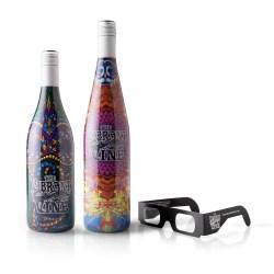 3-D label on wine bottles wins Bronze Award for TricorBraun