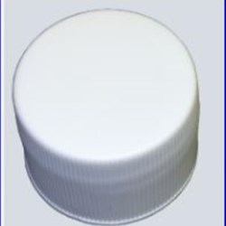 24-410, P/P Continuous Thread Closure, F217 Plain, Ribbed Skirt, Mat/Stipple Top,