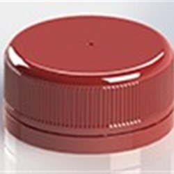 48mm, P/P Tamper Evident Closure, Ss-222 Plain, Ribbed Skirt, Smooth Top,