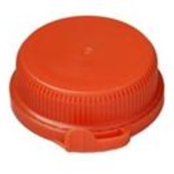 38-403, P/P Tamper Evident Closure, Linerless Valve/Plug Tear Away Band,