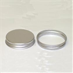 48-400, Aluminum Continuous Thread Closure, F217 Plain,