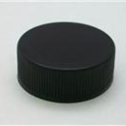 28-400, P/P Continuous Thread Closure, F217.035/PressureSeal.020 Plain, Land Ribbed Skirt, Smooth Top,