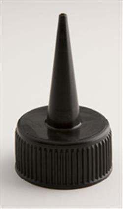 "24-410, LDPE Spout Closure, .042"" orifice Ribbed Skirt,"