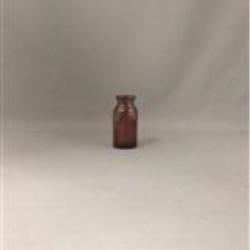 10 ml Glass Type 1 Vial, Round, Amber, 20mm finish Iso