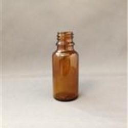 20 ml Glass Type 3 Vial, Round, Amber, 18mm finish