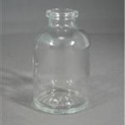 30 ml Glass Type 1 Vial, Round, Amber, 20A-2710 finish