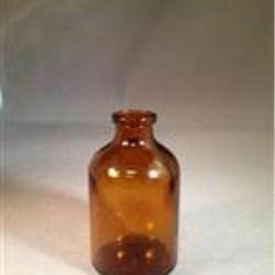 50 ml Glass Type 1 Vial, Round, Amber, 20-2710