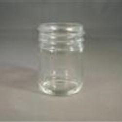 1 oz Glass Jar, Round, Flint, 43-400 Straight Sided