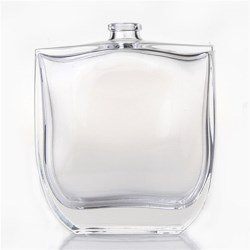 100 ml Glass Straight Sided, Oval, Flint, 15Crimp finish