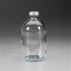 100 ml Glass Vial, Round, Flint, 20Stopper finish Sterile