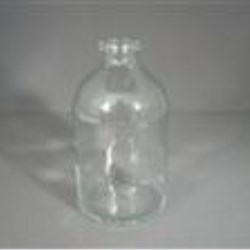 100 ml Glass Vial, Round, Amber, 20A-2710 finish